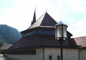 Chiesa in controluce