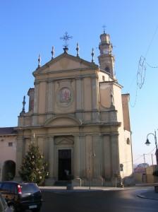 Parrocchiale di San Martino - Arborio vista Frontale