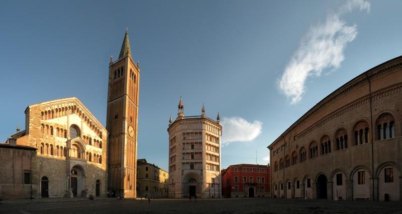 ''Parma duomo - battistero - vescovado'' - Parma