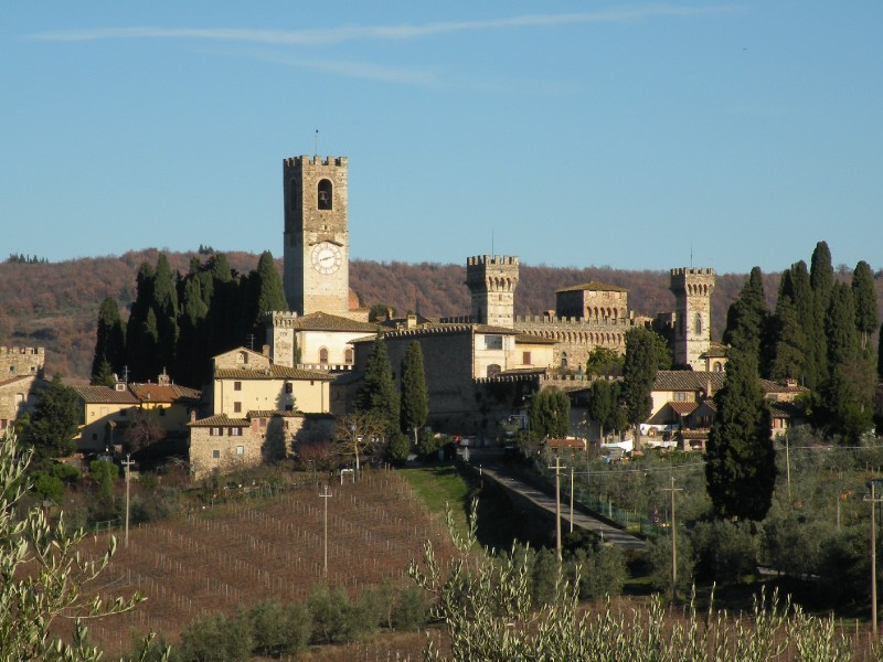 ''Abbazia di San Michele Arcangelo a Passignano'' - Tavarnelle Val di Pesa