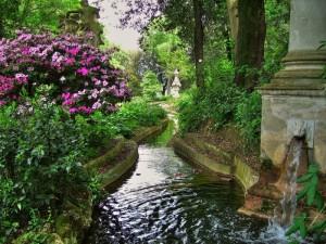 La fontana di Villa Bardini