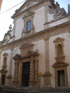 Salemi - Chiesa del Collegio dei Gesuiti