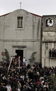 A cruci di L'anciuleddi d'oru.. ( crocifisso degli angioletti )