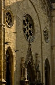 Particolare facciata Chiesa degli Olandesi