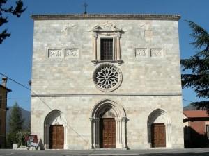 Facciata della chiesa di S. Lucia - Magliano de' Marsi (AQ)