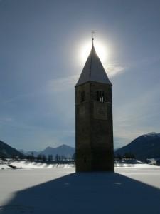 Giochi di luci ed ombre in Val Venosta