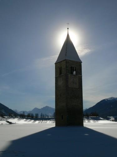 Curon Venosta - Giochi di luci ed ombre in Val Venosta