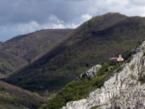 La chiedetta medioevale di Siaris in Val Rosandra