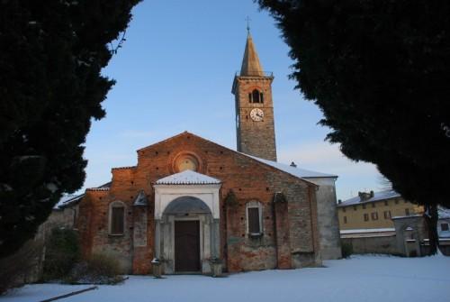 Salussola - Santa Maria Assunta...tra i cipressi