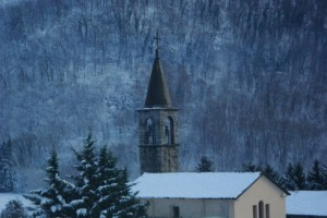 chiesa invernale