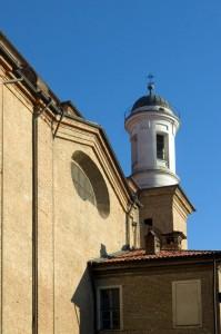 Il curioso campanile rotondo di Sanr'Emiliano