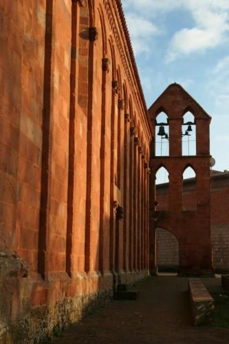 Ghilarza - S. Pietro di Zuri: il campanile