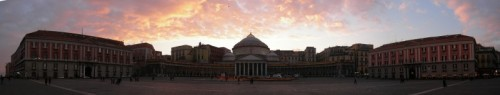 Napoli - Napoli - piazza Plebiscito