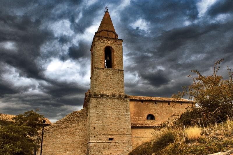 ''Chiesa di Pievefavera Caldarola Macerata'' - Caldarola