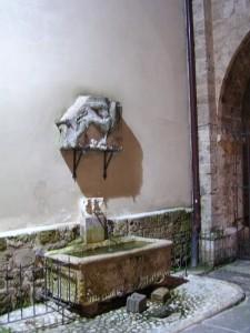 Rieti - Fontanella in Piazza C. Battisti