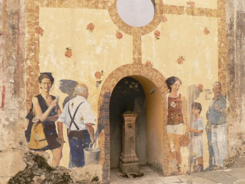 San Nicola Arcella - in fila....