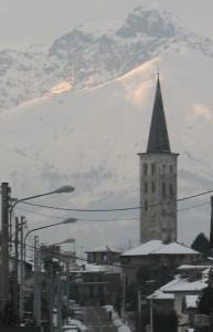 Nostra Signora delle cime - Campanile di S. Maria Maggiore e Monte Mucrone