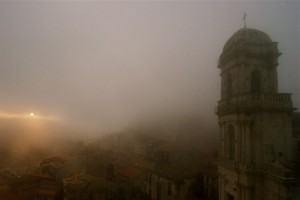 Chiesa di S. Antonio (nebbia al tramonto)