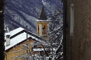campanile della chiesa di crealla