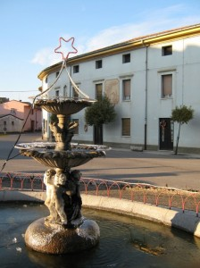 Fontana natalizia in piazza San Marco!!!
