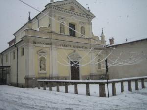 neve su San Michele Arcangelo - Natale 2008