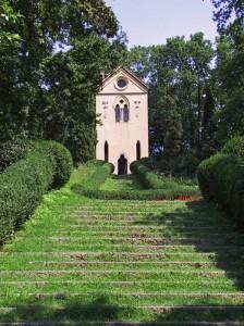 Una lunga scalinata