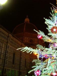 Il Santo Natale in piazza del Duomo a Firenze