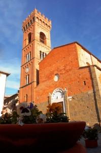 """Carlo IV  """"castello di Montecarlo"""" Chiesa di Sant'andrea"""