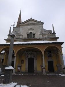 La chiesa parrocchiale di Pieve V.