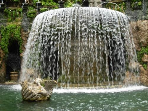Tivoli - Una cascata d'acqua