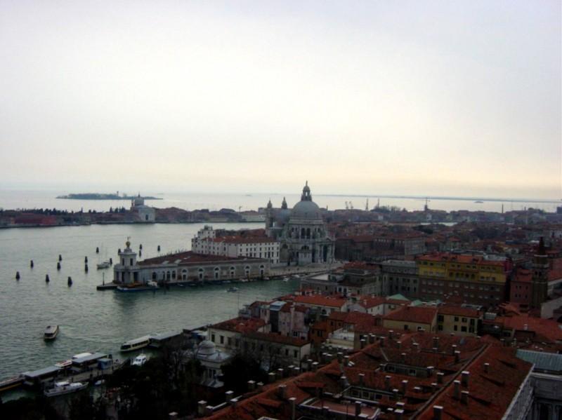 ''Chiesa della Salute e Canal Grande'' - Venezia