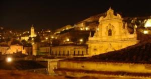 notte di settembre sulle 100 chiese di modica