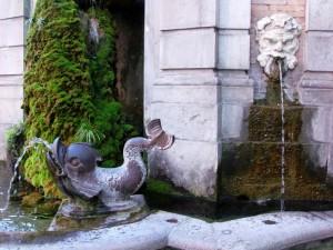 Fontana Vanvitelli -particolare-