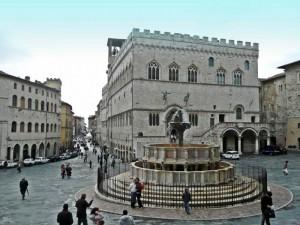 Fontana Maggiore in Piazza IV Novembre.