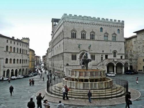 Perugia - Fontana Maggiore in Piazza IV Novembre.