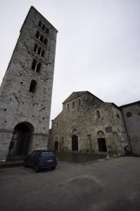Il duomo di anagni ed il campanile