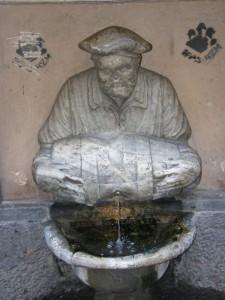 fontana dell facchino