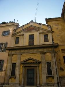 chiesa di piazza  del collegio romano