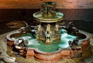 Fontana  - Santuario Santa Casa di Loreto - Ancona -