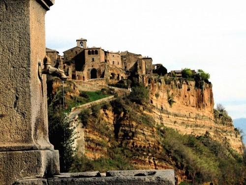 Bagnoregio - La fontana dove Civita si specchiava ...
