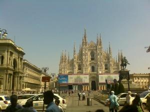 Il Duomo visto dal telefonino