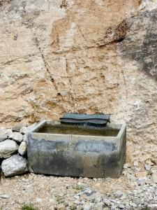 goccia a goccia dalla roccia
