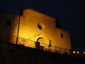Notte a Campobasso vecchia