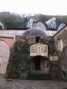Fontana in cupola al interno convento S.Francesco di Paola.