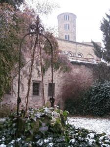 Sant'Apollinare Nuovo dal giardino d'inverno
