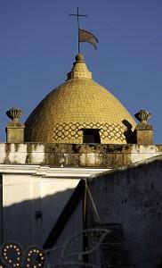 La cupola Santa di oru…