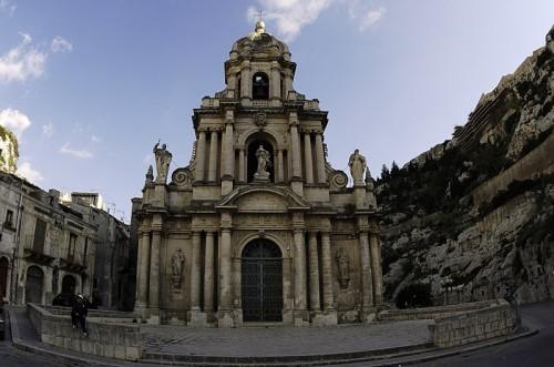 Scicli - La chiesa del Commissario