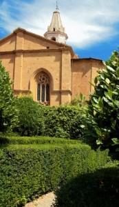 Il Duomo visto dal giardino di Palazzo Piccolomini