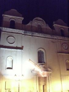 Chiesa Immacolata in notturna