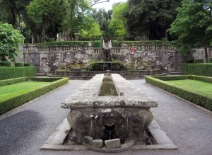 Mensa del cardinale, Villa Lante a Bagnaia
